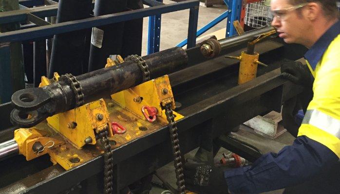 Hydraulic Cylinder Bench For Sale