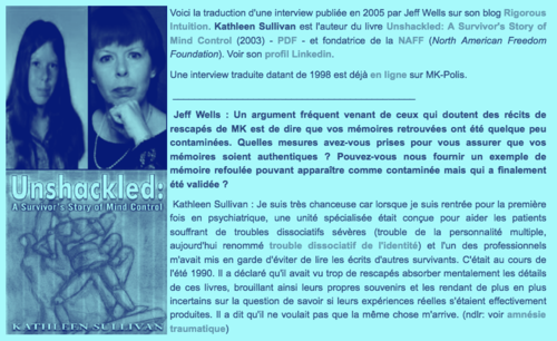 ➤ Nouvel extrait de l'interview de Kathleen Sullivan