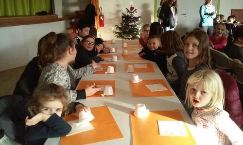 Goûter de Noël mairie