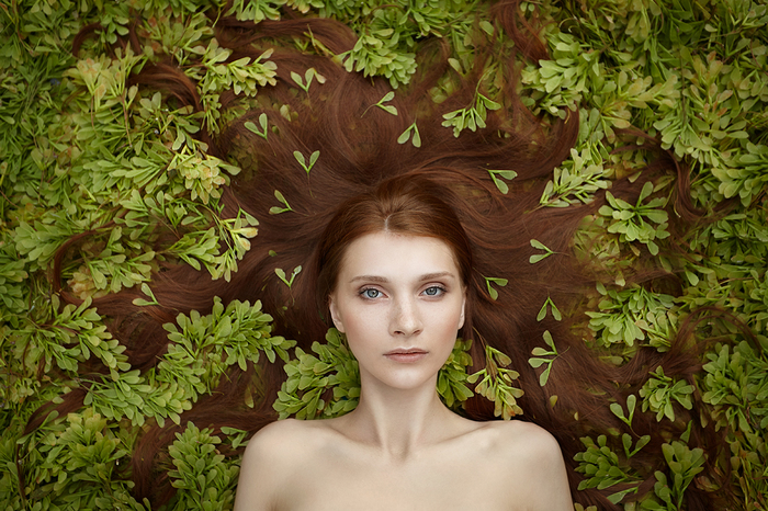 Portrait nature by Kate Plotnik