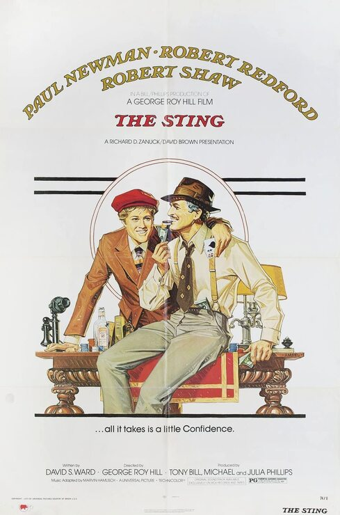 THE STING BOX OFFICE USA 1973