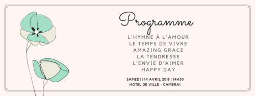 Programme Mariage Jean-François et Monique