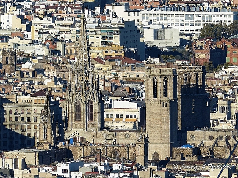 Barcelone, capitale de la Catalogne