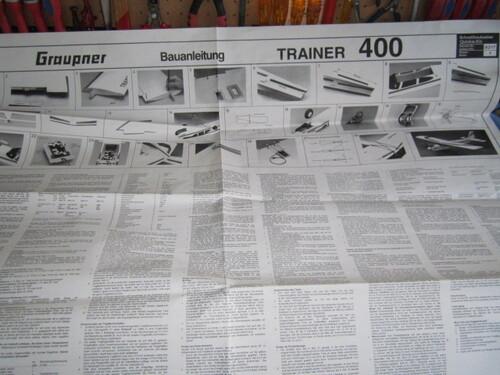 Trainer 400 de Graupner