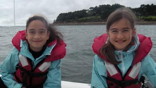 Notre première fois en catamaran