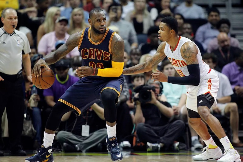 Atlanta - Cleveland : LeBron James en mode playoffs