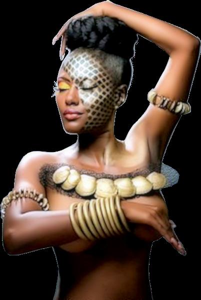 Tubes femmes création africaine 12
