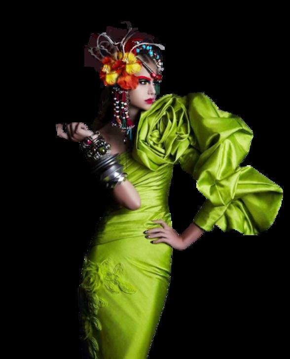 Femmes en Vert Série 13