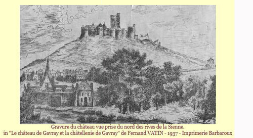 LES REMPARTS DE GAVRAY (Manche)