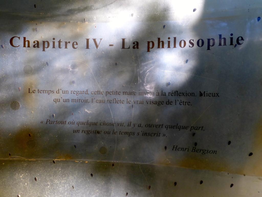 Manoir de la Tour... 4: la Philosophie