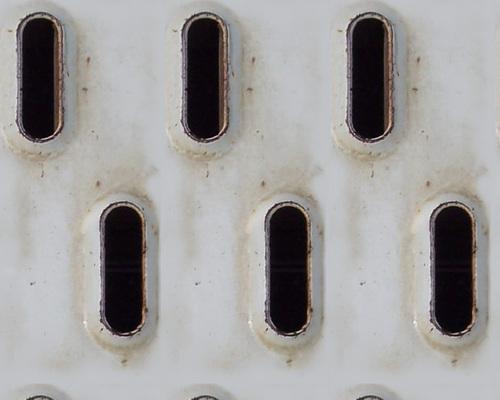 Fonds carrés Métal Blanc no:6