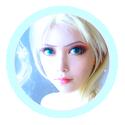 [LS] mini avatar arrondi d'Elsa (Frozen)