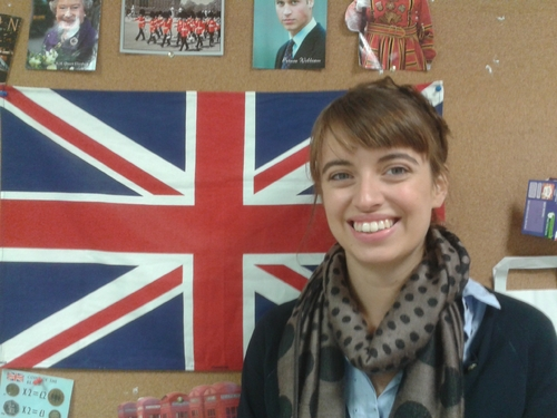 Here is a presentation of our language assistant (2014/2015) by Garance