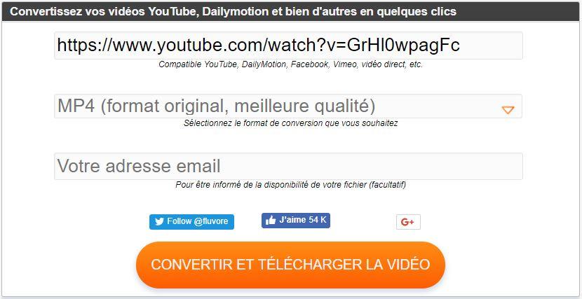 Télécharger une vidéo sur YouTube