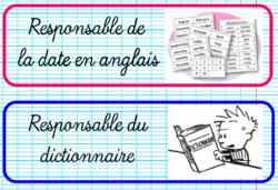 TABLEAU DE RESPONSABILITES