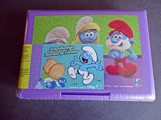 boite à tartines offerte avec des biscuits de chez aldi