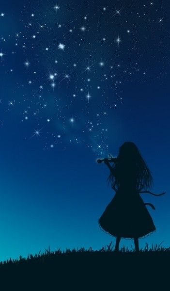 Burst feelings to the sky and they'll turn into the stars