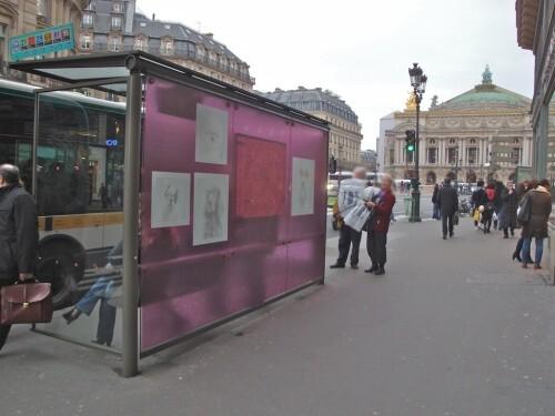 abri-bus pub GrandOptical Opéra 9