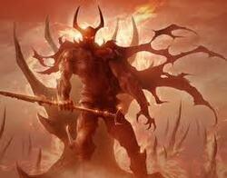On ne taille pas,ne tue pas ,ne brûle pas ... les démons