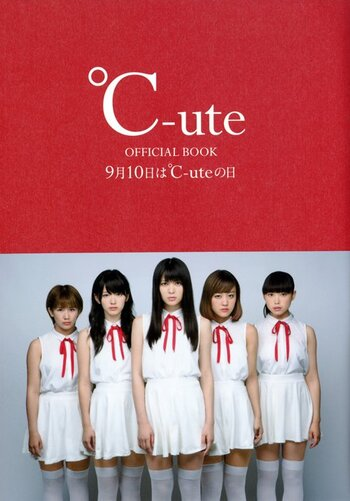 Book : °C-ute 1st Official Book