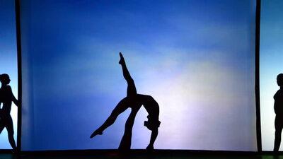 dance ballet silhouette dancing