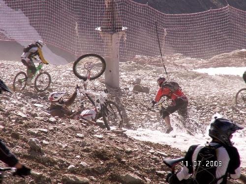 La Mégavalanche, le 12 juillet 2009