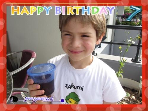 Baptiste à 7 ans