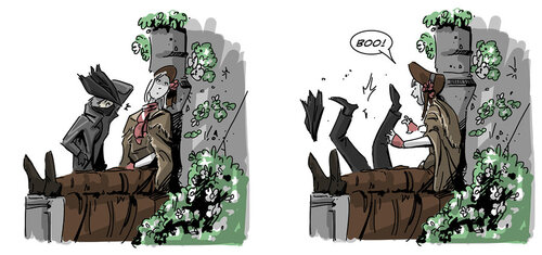 Bloodborne c'est trop dark.