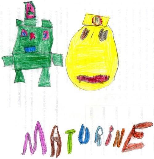 DESSIN DE MATURINE