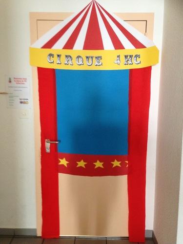 Decoration Cirque Pour Porte