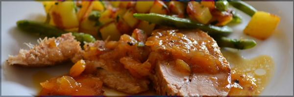 Rouelle de Porc Fermier & Légumes du potager