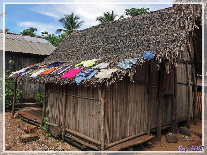 Sèche-linge écolo - Antanabe - Nosy Sakatia - Madagascar