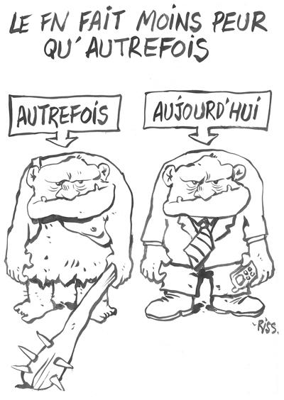caricature de Riss