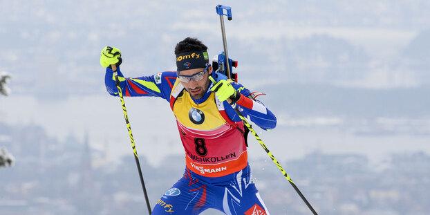 Biathlon : 4e médaille d'or pour Martin Fourcade, sacré champion du monde de l'individuel 20km