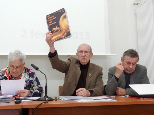 L'Assemblée Générale 2013 des Amis du Musée du Pays Châtillonnais-Trésor de Vix