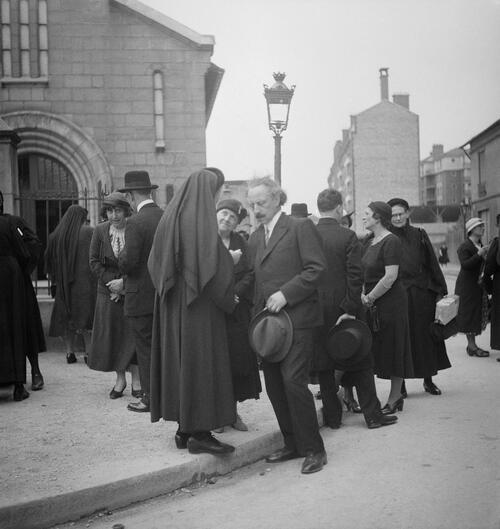 Paris. Reportage sur les Antoinistes - Fonds Marcel Cerf-1935-1936 #3