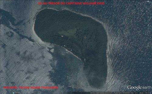 Ile aux trésors du capitaine William Kidd. (Expédition pour île aux trésors en Thaïlande)(Albert Fagioli)