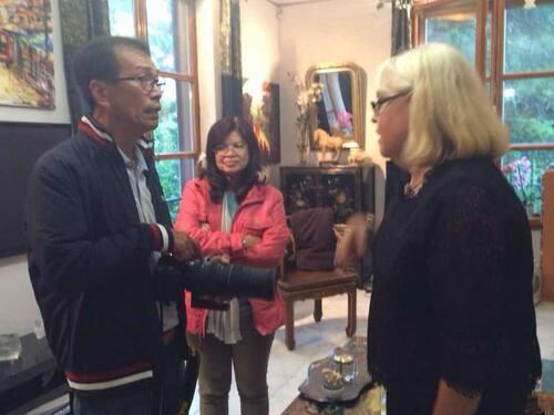 visite d'une délégation thaïlandaise à Strasbourg vendredi 12 septembre