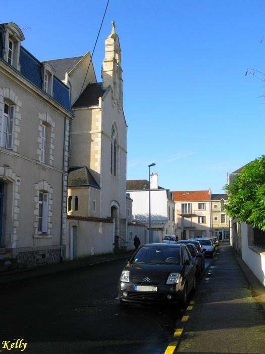 Pays-de-Loire, Vendee,La Roche sur Yon, eglise Notre Dame
