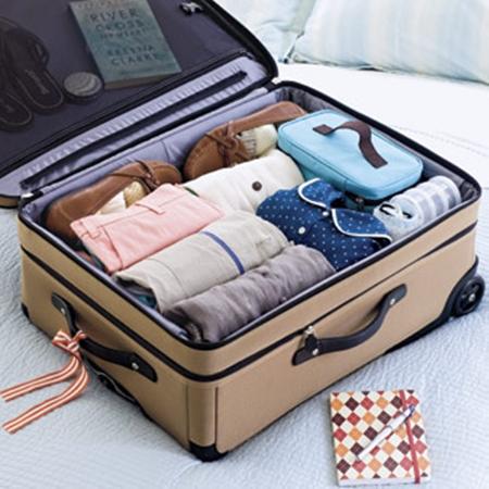 La disposition et la sélection des bagages lorsque vous voyagez
