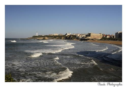 Balade à Biarritz