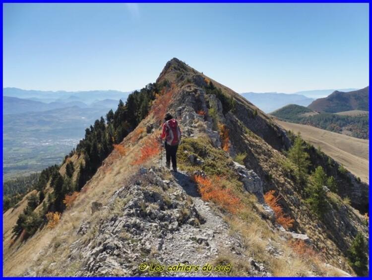 Hautes Alpes, les crêtes de Charance