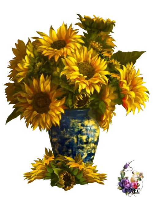bouquet tournesol