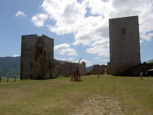 Le château de Puivert ( Aude)