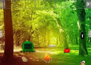 Jouer à Cascade hill forest escape