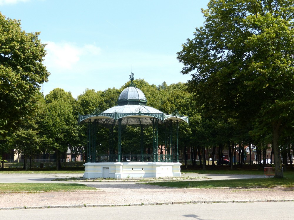 A l'ombre au Parc de la Hotoie