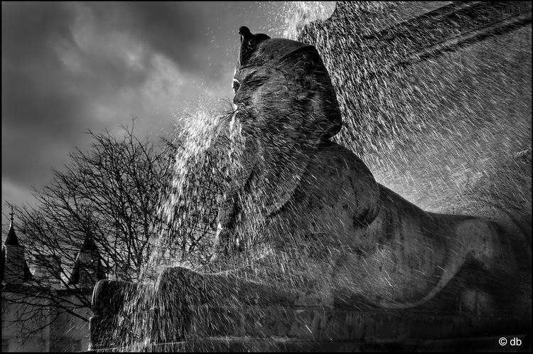 Le sphinx du Chatelet