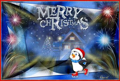 Merry Christmas (Linda Design)