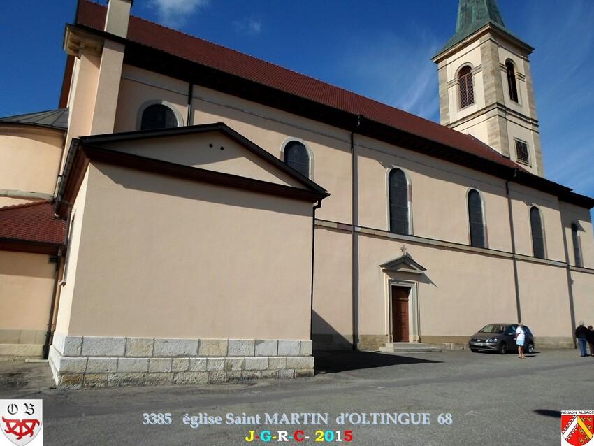 20/09/2015 EGLISE SAINT MARTIN D'OLINGUE 68  5/5  D  28/05/2016