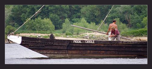 La batellerie de la Loire
